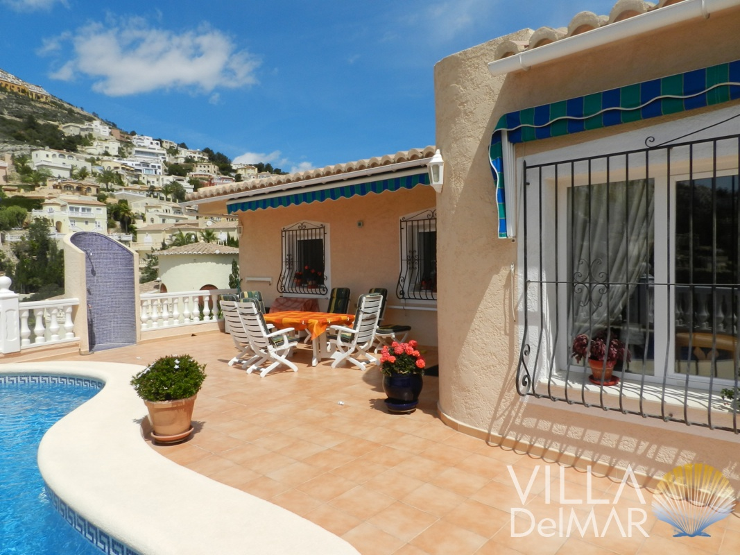 Well maintained Villa in Benitachell with lovely sun terrace and private pool!