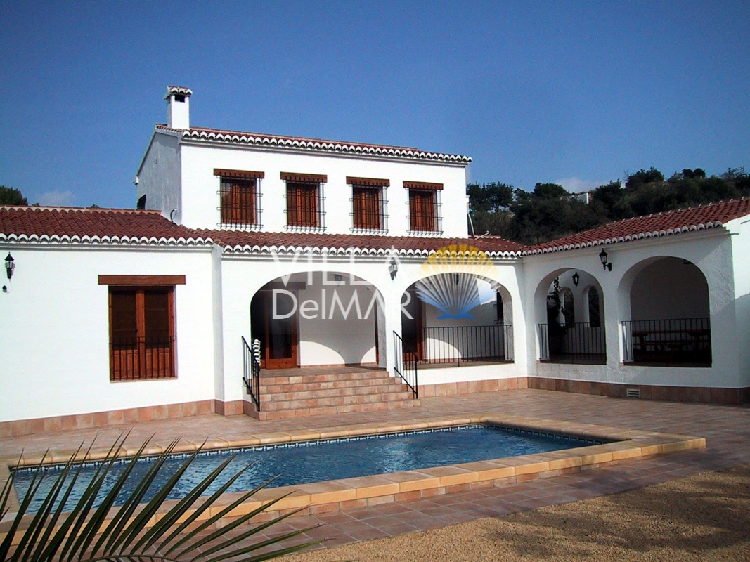 New built Finca in Benissa with good connection