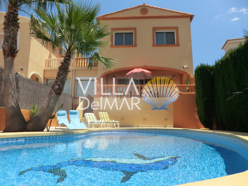Calpe – Town house with lots of space for the family