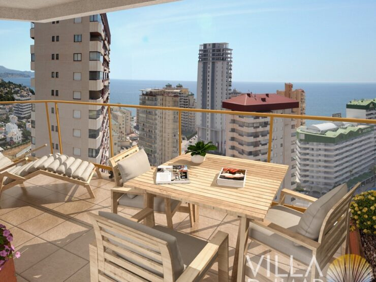Calpe – Modern and bright apartments with all comforts near the beach!