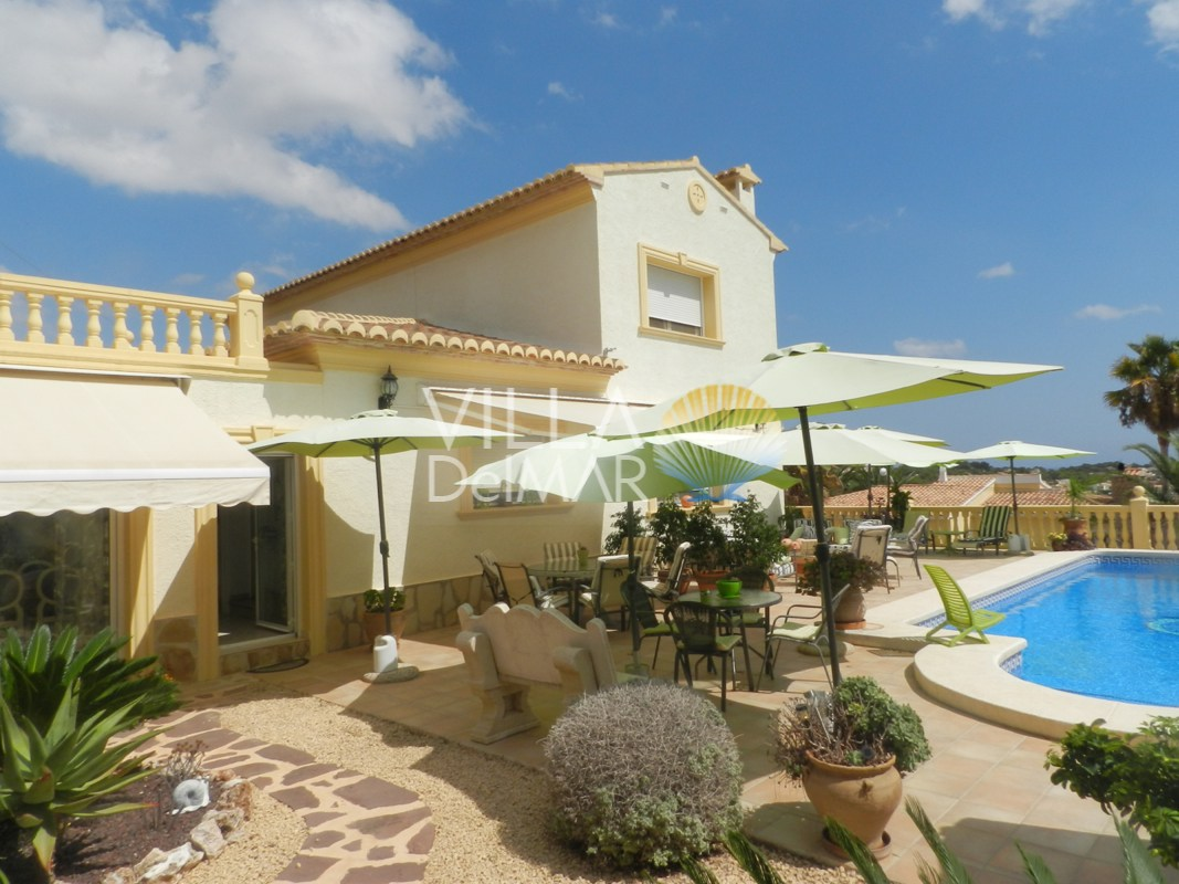 Calpe -Villa for high demands with sea view!