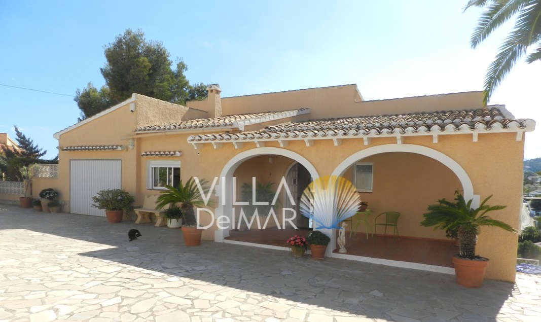 Moraira – Villa with guest apartment on the golf course San Jaime!