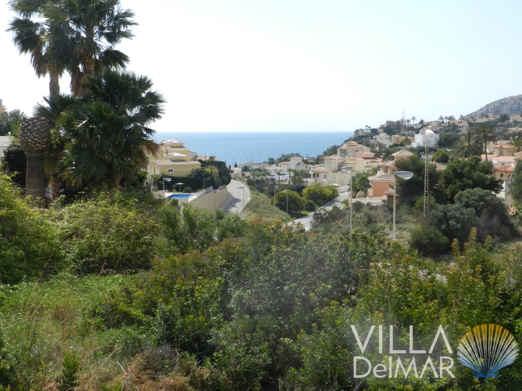 Calpe – Building plot close to the centre and sea!
