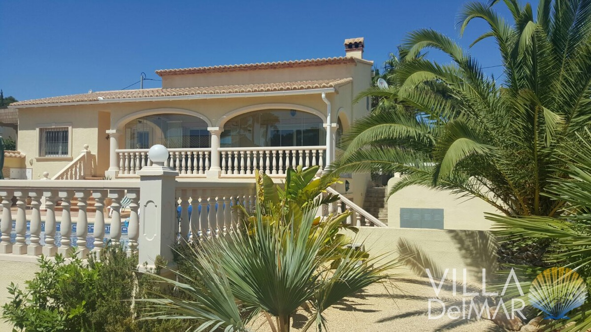 Calpe – Sea view villa in sunny location, ready to move in!