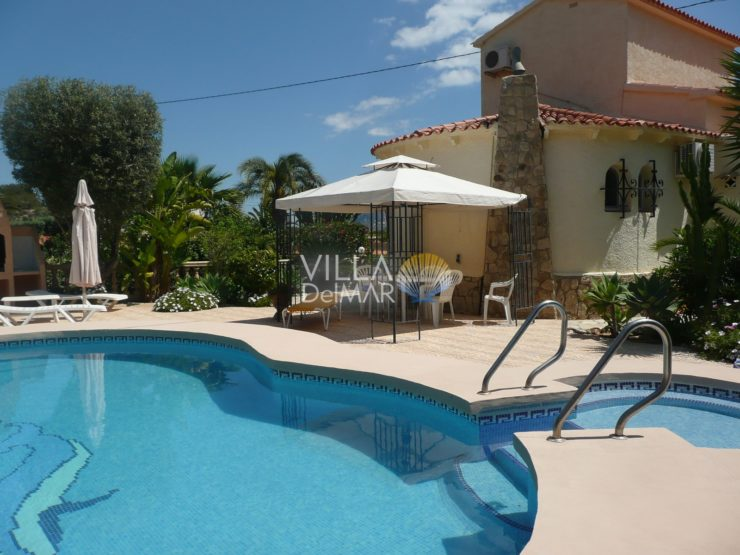 Calpe – Villa with sea view and two separate guest studios!