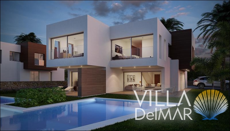 Moraira – New semi-detached high quality villas!