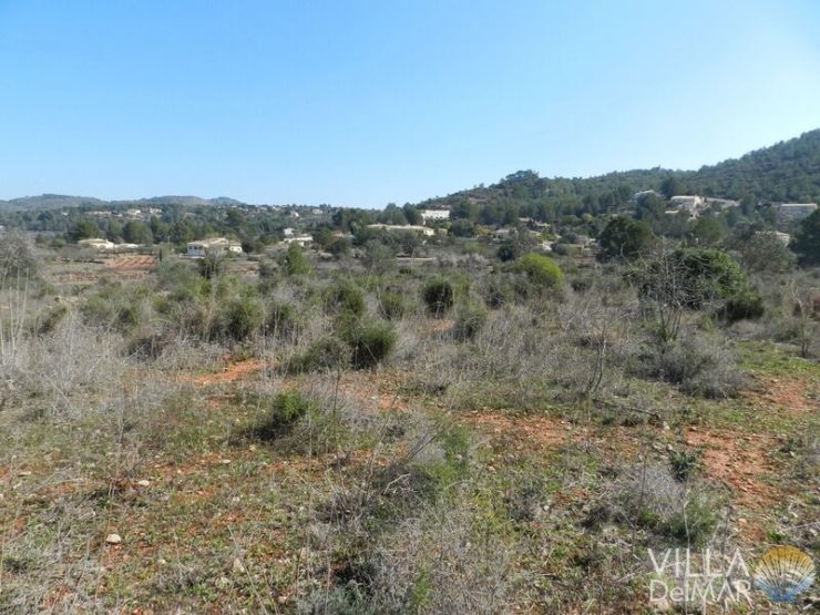 Lliber – Finca plot between Benissa and Jalon!