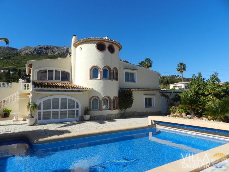 Calpe – Villa with guest apartment in top conditions!