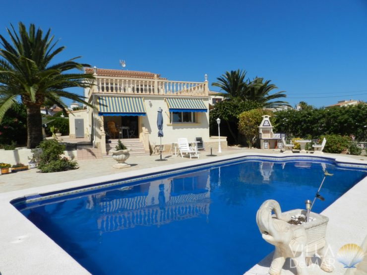 Calpe – Sunny villa with guest apartment, ready to move in!