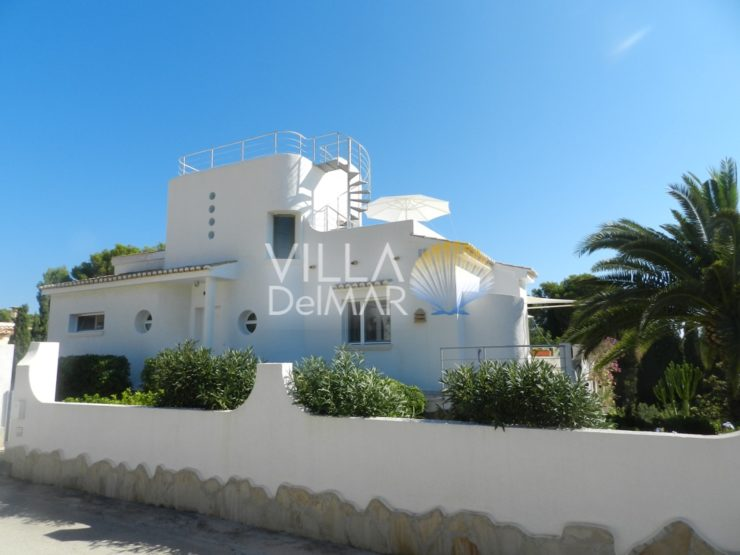 Calpe – Perfect villa with interesting architecture and room layout!