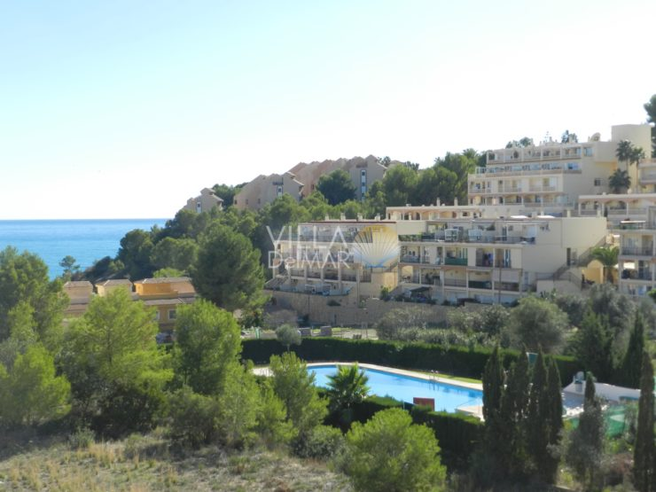 Calpe – 2 bedroom penthouse apartment with sea view!
