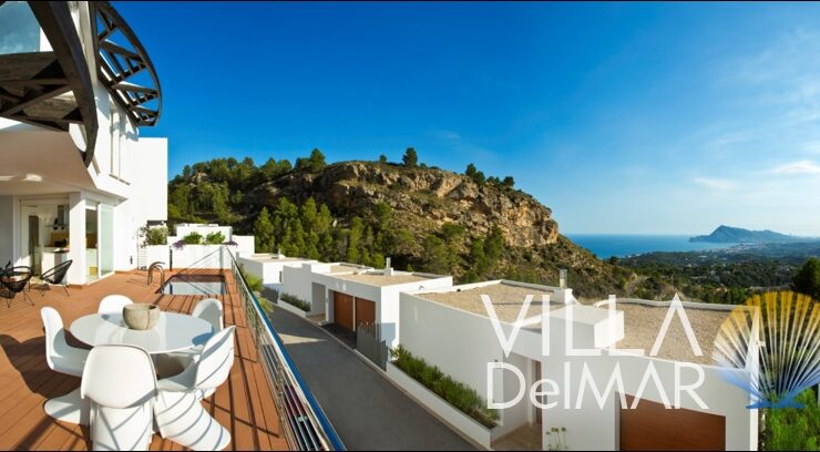 Altea – Exceptional villa with spectacular sea and country views!