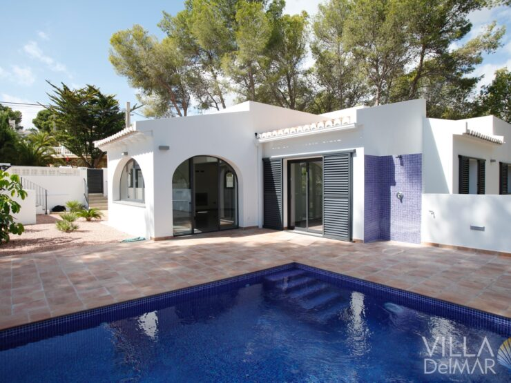 Benissa – Top modernized villa on the coast between Calpe and Moraira!