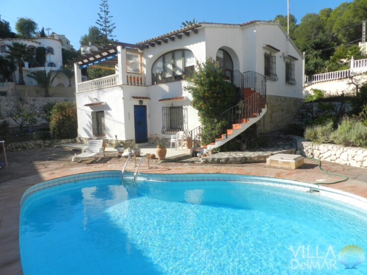 Benissa – Villa with private pool, sea view and apartment for guests!