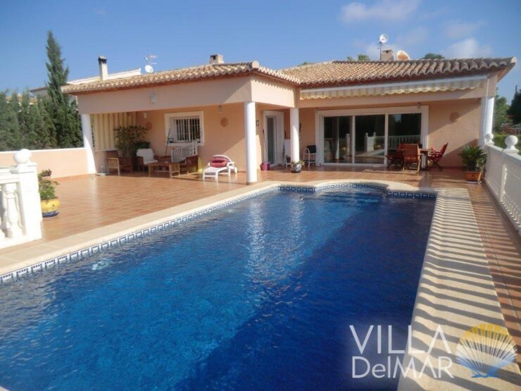 Calpe – Very well maintained villa of high standard and beautiful views!