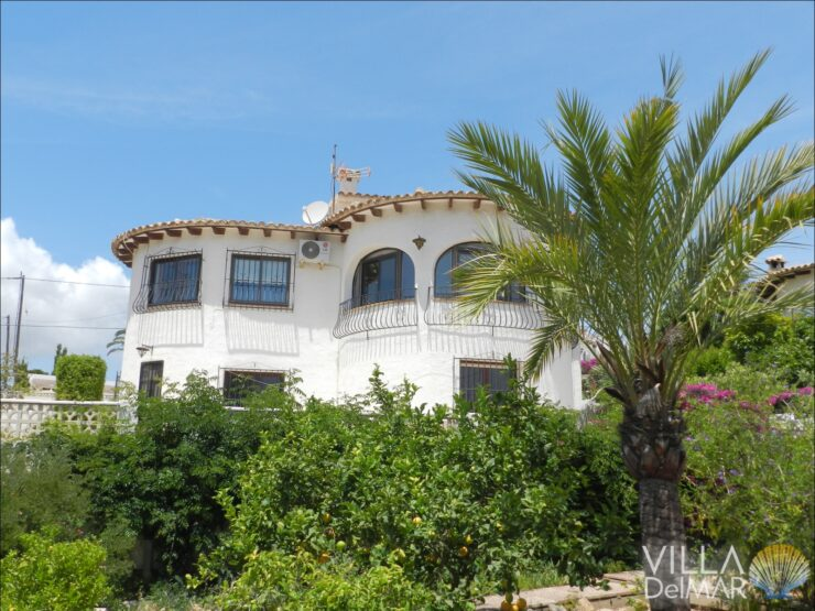 Calpe – Villa in a sunny location with beautiful views of the sea and Peñon!