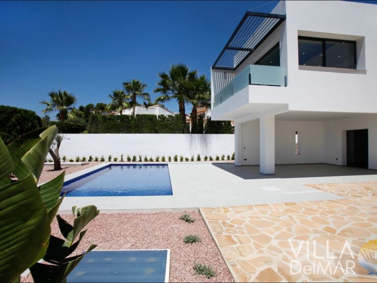 Benissa – Newly built villa with all comforts in a sunny coastal location!