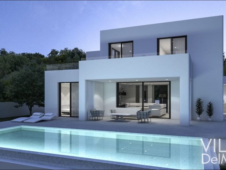 Calpe – Spacious, bright new built villa with all comfort!