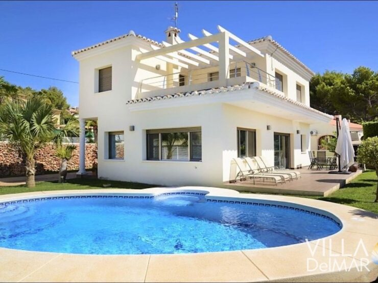 Calpe – Mediterranean villa in a quiet residential area near the beach!
