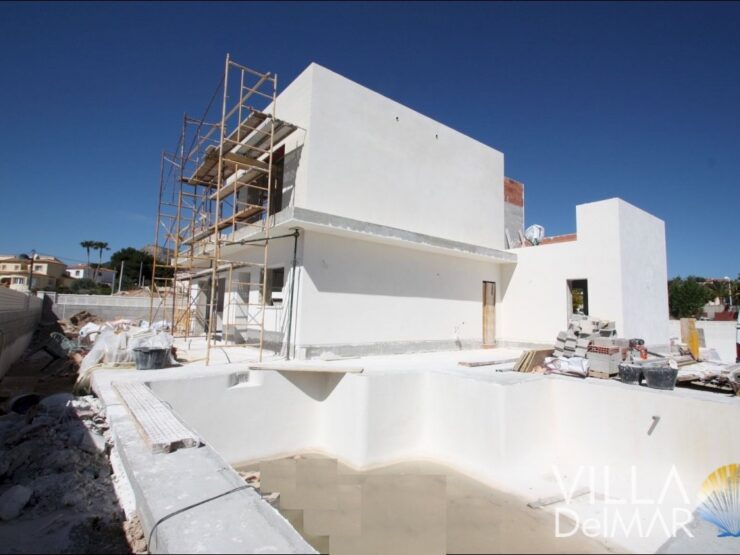 Calpe – New villa in residential area close to the beach and center!