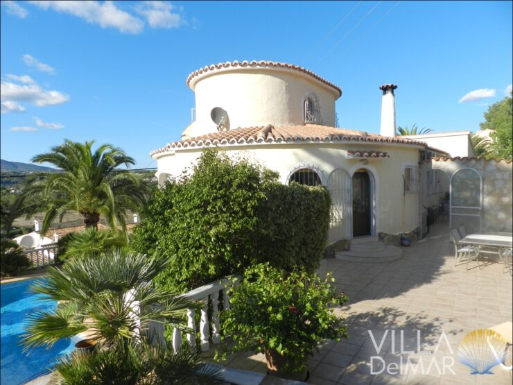 Calpe – Well-maintained villa with guest apartment and beautiful landscape view!
