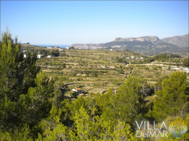 Benissa – Finca plot near villages and beaches!