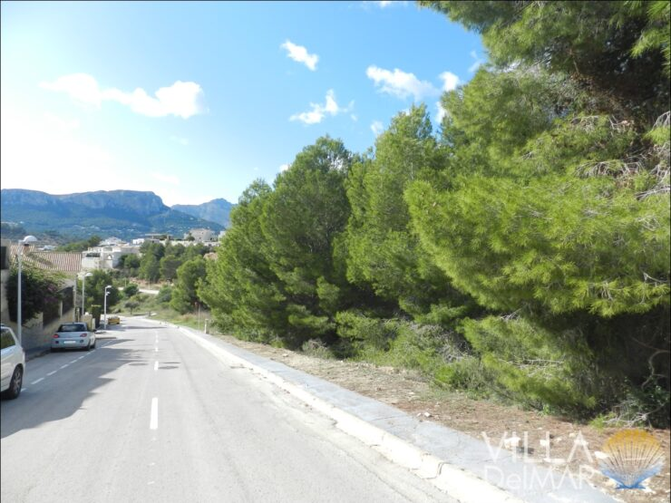 Calpe – Building plot for detached villa!