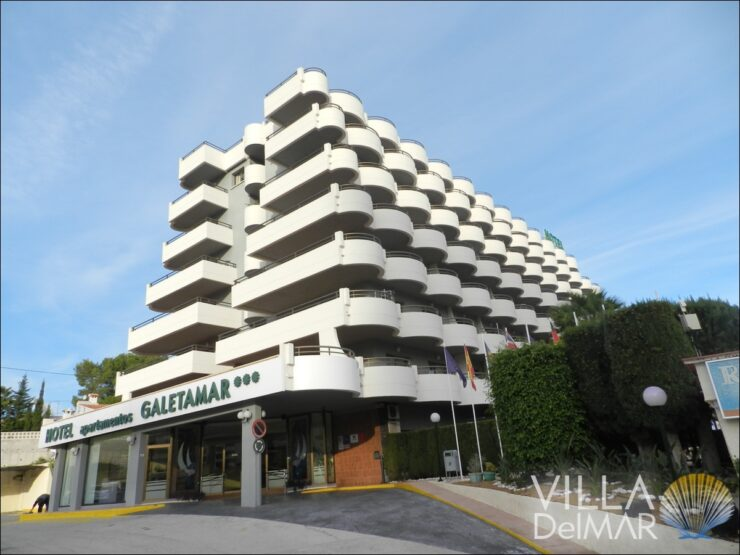 Calpe – Modernized studio in a hotel complex near the sea promenade!