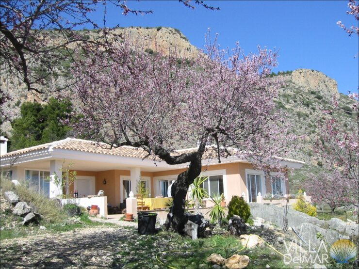 Confrides – Property for nature lovers with a wonderful country and sea views!