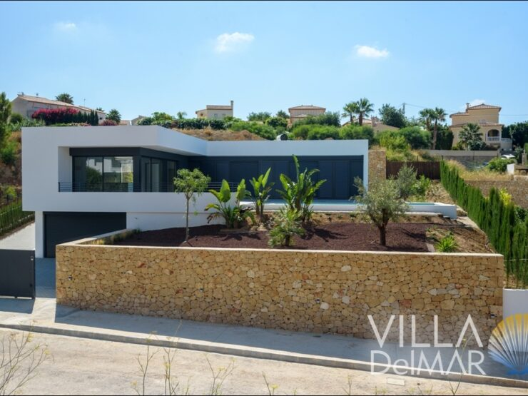 "Calpe – New build modern villa, near the beach ""La Fustera""!"