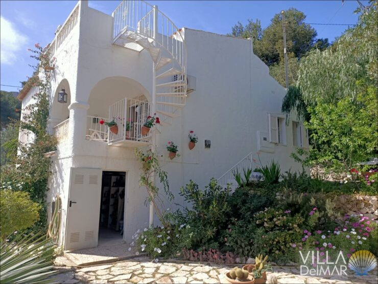 Calpe – Pretty chalet with sea view in a popular residential area!