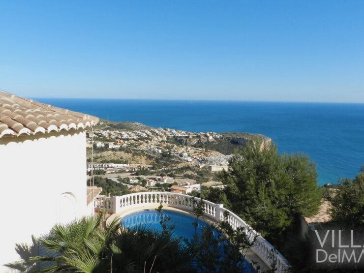 Benitachell – Villa on the Cumbre del Sol with spectacular sea views!
